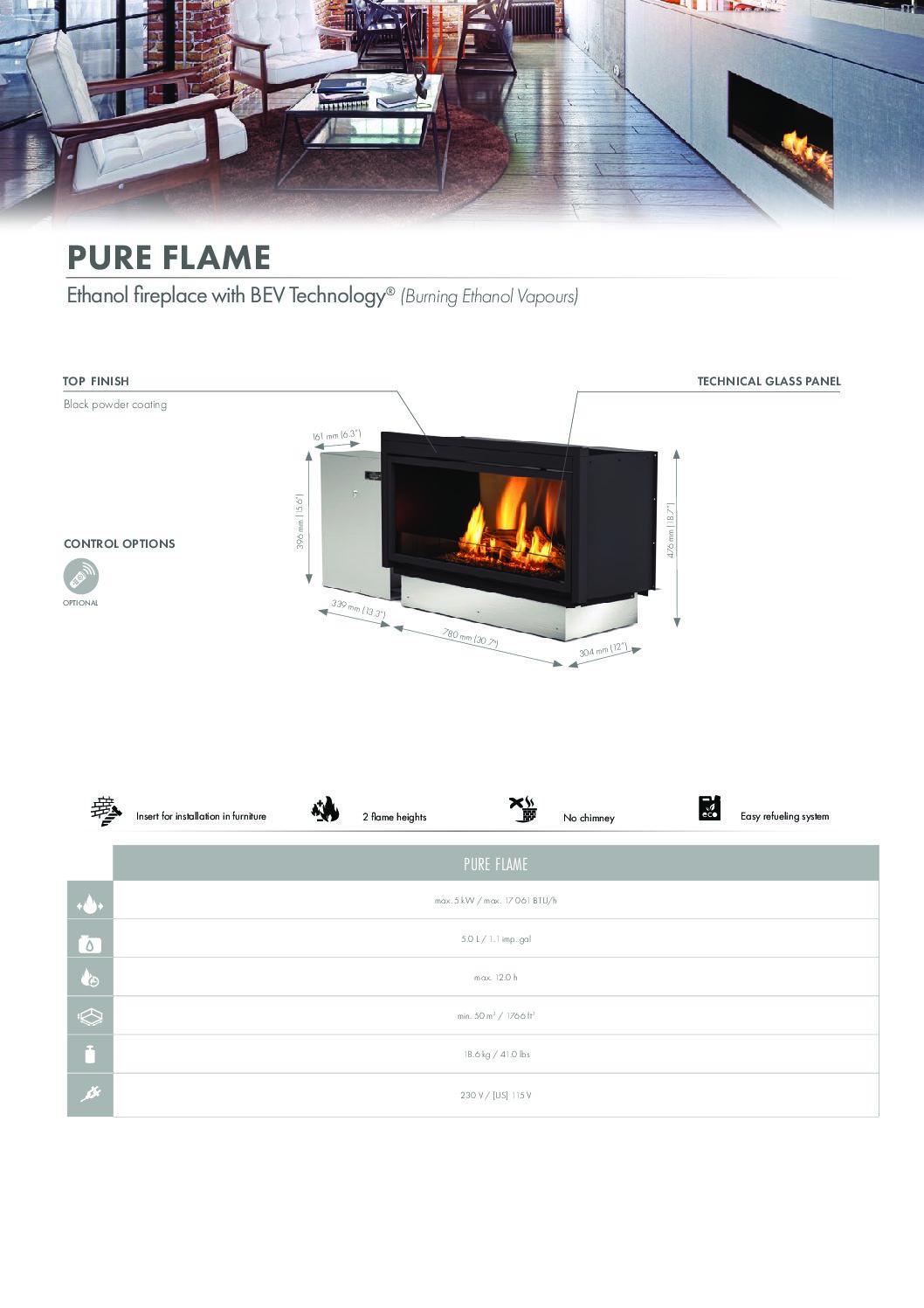 Insert bio-éthanol Pure Flame